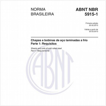 NBR5915-1 de 02/2013