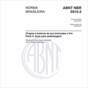 NBR5915-2 de 02/2013