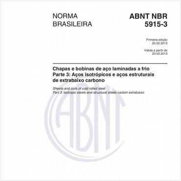 NBR5915-3 de 02/2013