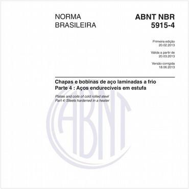 NBR5915-4 de 02/2013