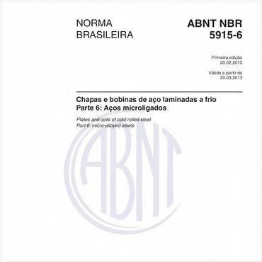 NBR5915-6 de 02/2013