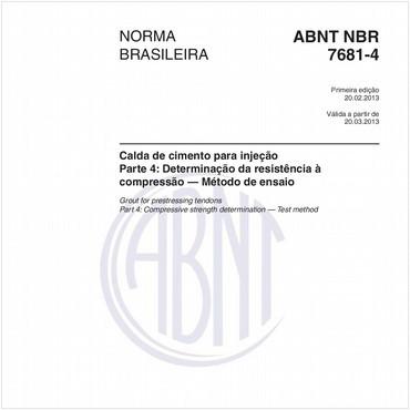 NBR7681-4 de 02/2013