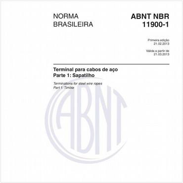 NBR11900-1 de 02/2013
