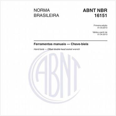NBR16151 de 03/2013
