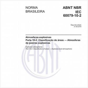 NBRIEC60079-10-2 de 06/2016