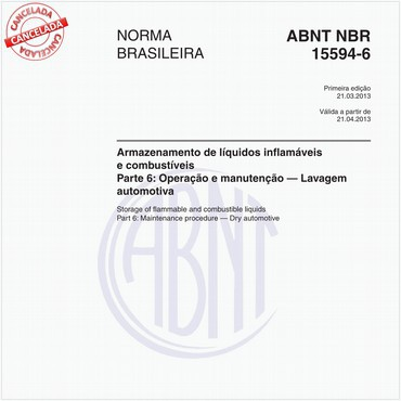 NBR15594-6 de 03/2013