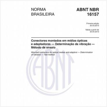 NBR16157 de 03/2013