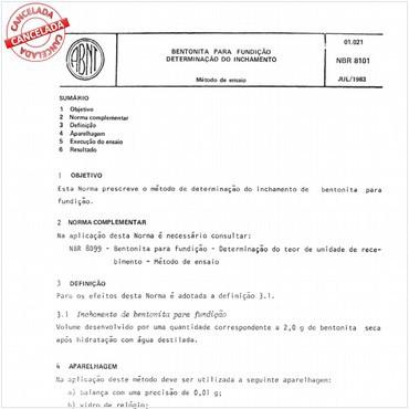 NBR8101 de 07/1983