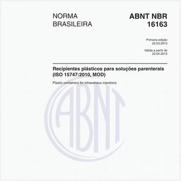 NBR16163 de 03/2013