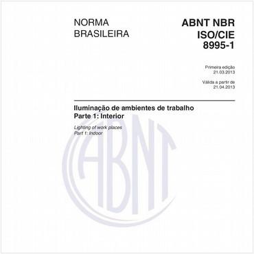NBRISO/CIE8995-1 de 03/2013