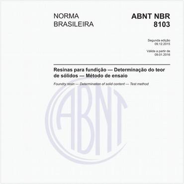 NBR8103 de 12/2015
