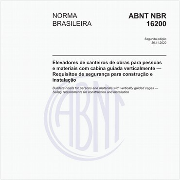 NBR16200 de 04/2013
