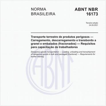 NBR16173 de 09/2021
