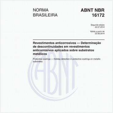NBR16172 de 07/2014