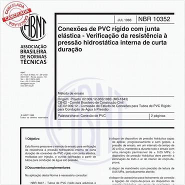 NBR10352 de 07/1988