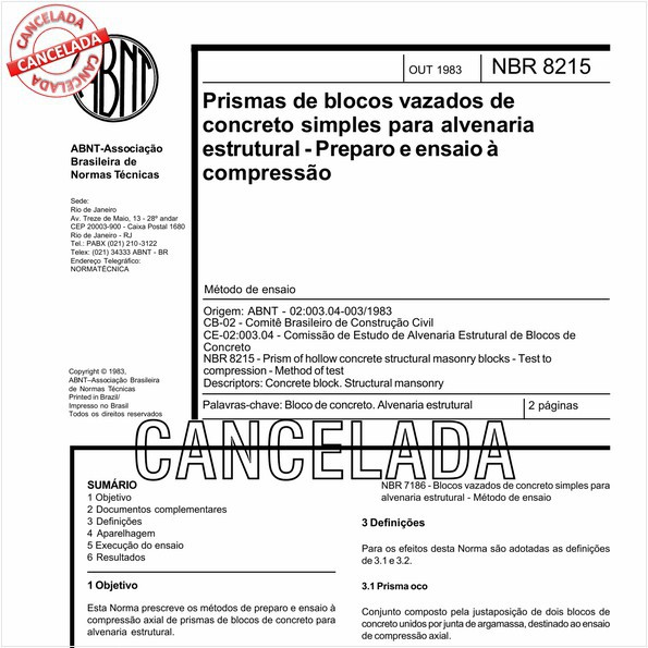 NBR8215 de 07/2011