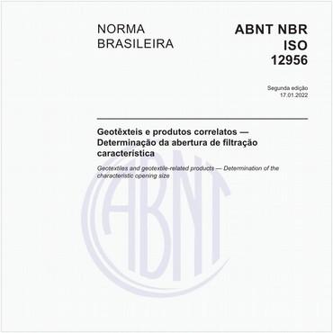 NBRISO12956 de 05/2013
