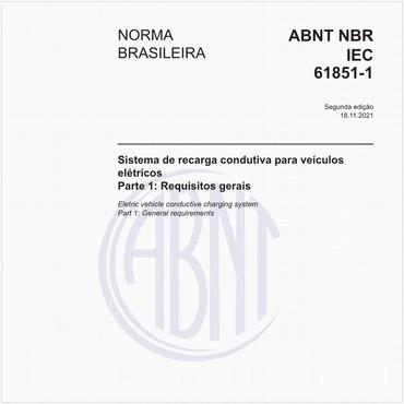 NBRIEC61851-1 de 06/2013