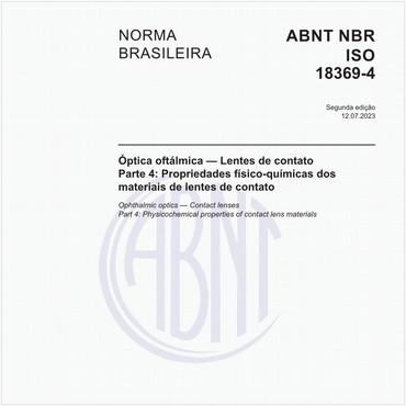 NBRISO18369-4 de 06/2013