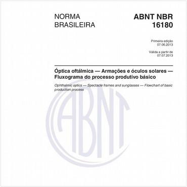 NBR16180 de 06/2013