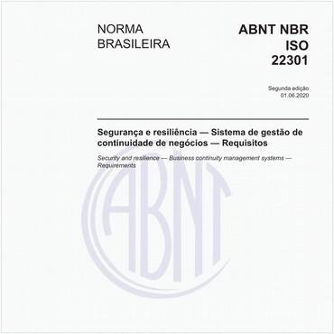 NBRISO22301 de 06/2020