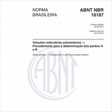 NBR16187 de 06/2013