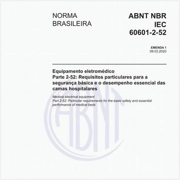 NBRIEC60601-2-52 de 03/2020