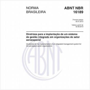 NBR16189 de 07/2013