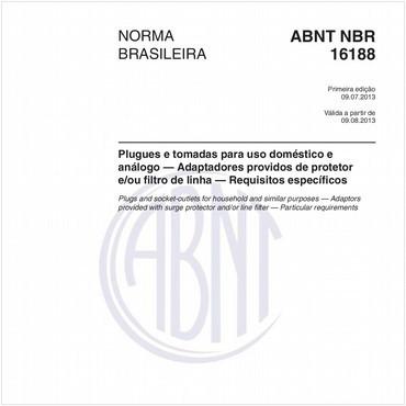 NBR16188 de 07/2013