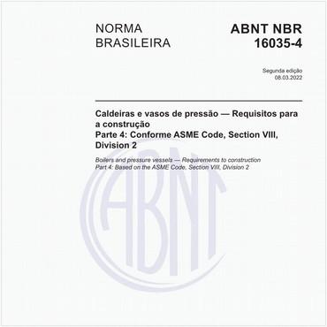 NBR16035-4 de 07/2013