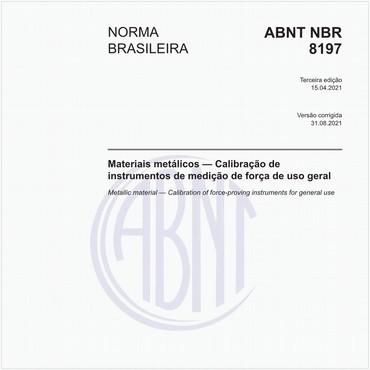 NBR8197 de 04/2012