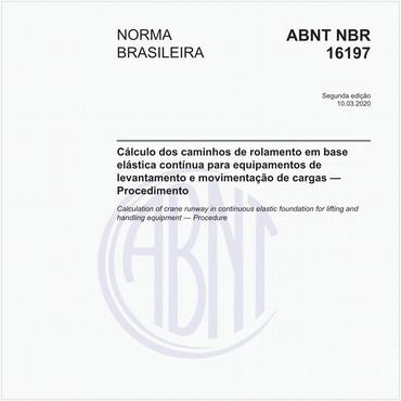 NBR16197 de 03/2020