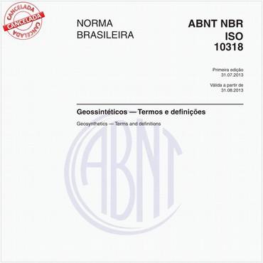 NBRISO10318 de 10/2016