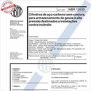 NBR12639 de 09/1992