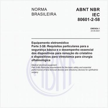 NBRIEC80601-2-58 de 06/2017