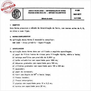 NBR8277 de 10/1988