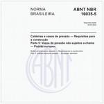 NBR16035-5 de 08/2013