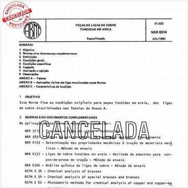 NBR6314 de 07/1982