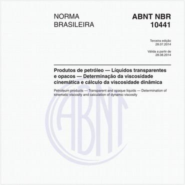 NBR10441 de 07/2014