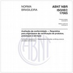 NBRISO/IEC17065