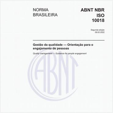 NBRISO10018 de 08/2013