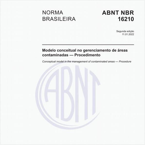 Modelo conceitual no gerenciamento de áreas contaminadas — Procedimento