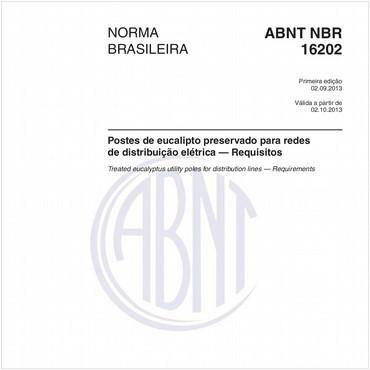 NBR16202 de 09/2013