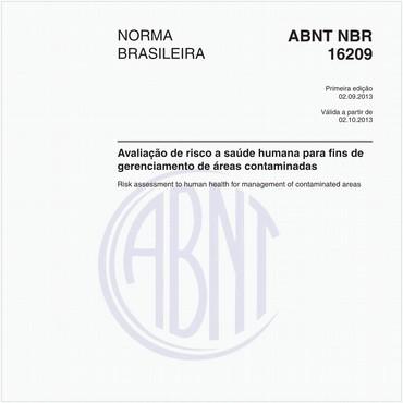 NBR16209 de 09/2013