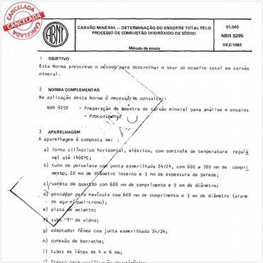 NBR8295 de 12/1983