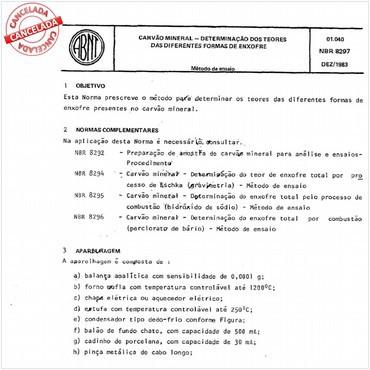 NBR8297 de 12/1983