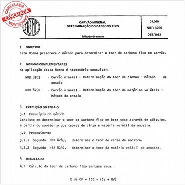 NBR8299 de 12/1983