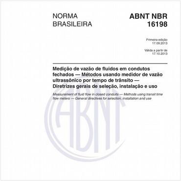 NBR16198 de 09/2013