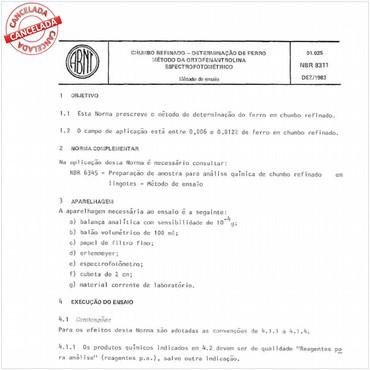 NBR8311 de 12/1983