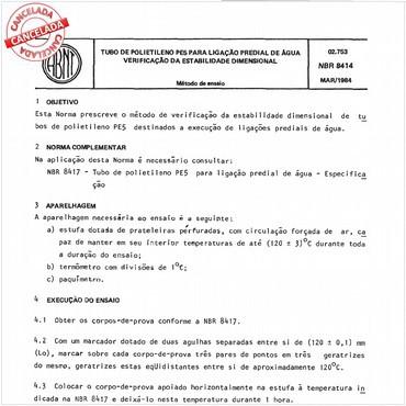 NBR8414 de 03/1984